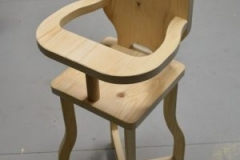 Custom doll chair